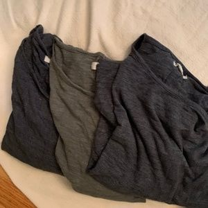 Madewell longsleeved t-shirts-price is for all 3